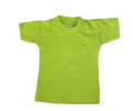 mini t-shirt limegroen